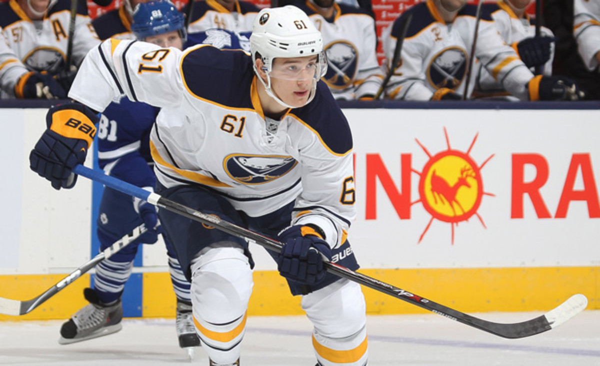 The Sabres first pick in the 2013 Draft, Zadorov posted six goals and 25 points with London of the OHL last season.