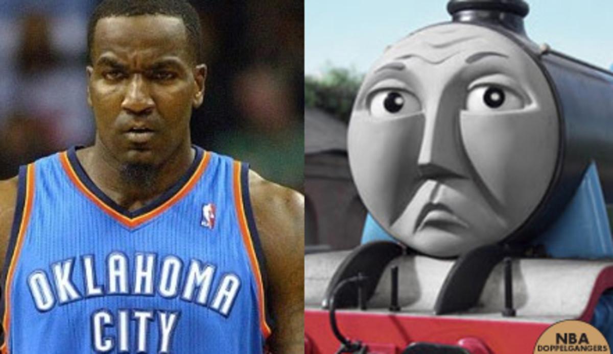 NBA Doppelgangers