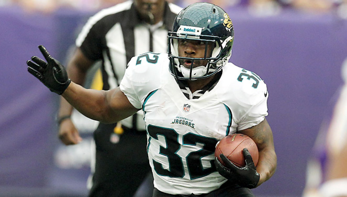In his three full seasons as a starter, Maurice Jones-Drew averaged 1,440 rushing yards and 9 TDs.