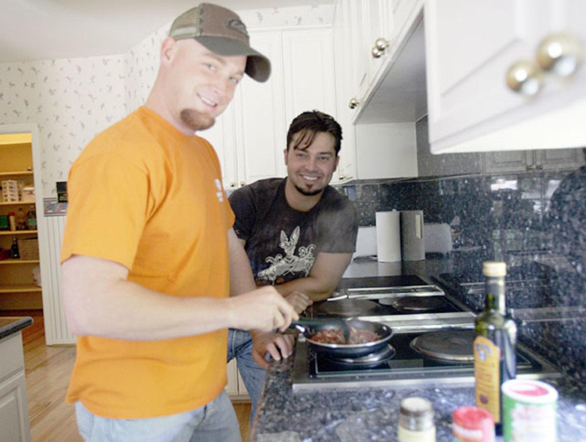 Chad Gaudin and Nick Swisher