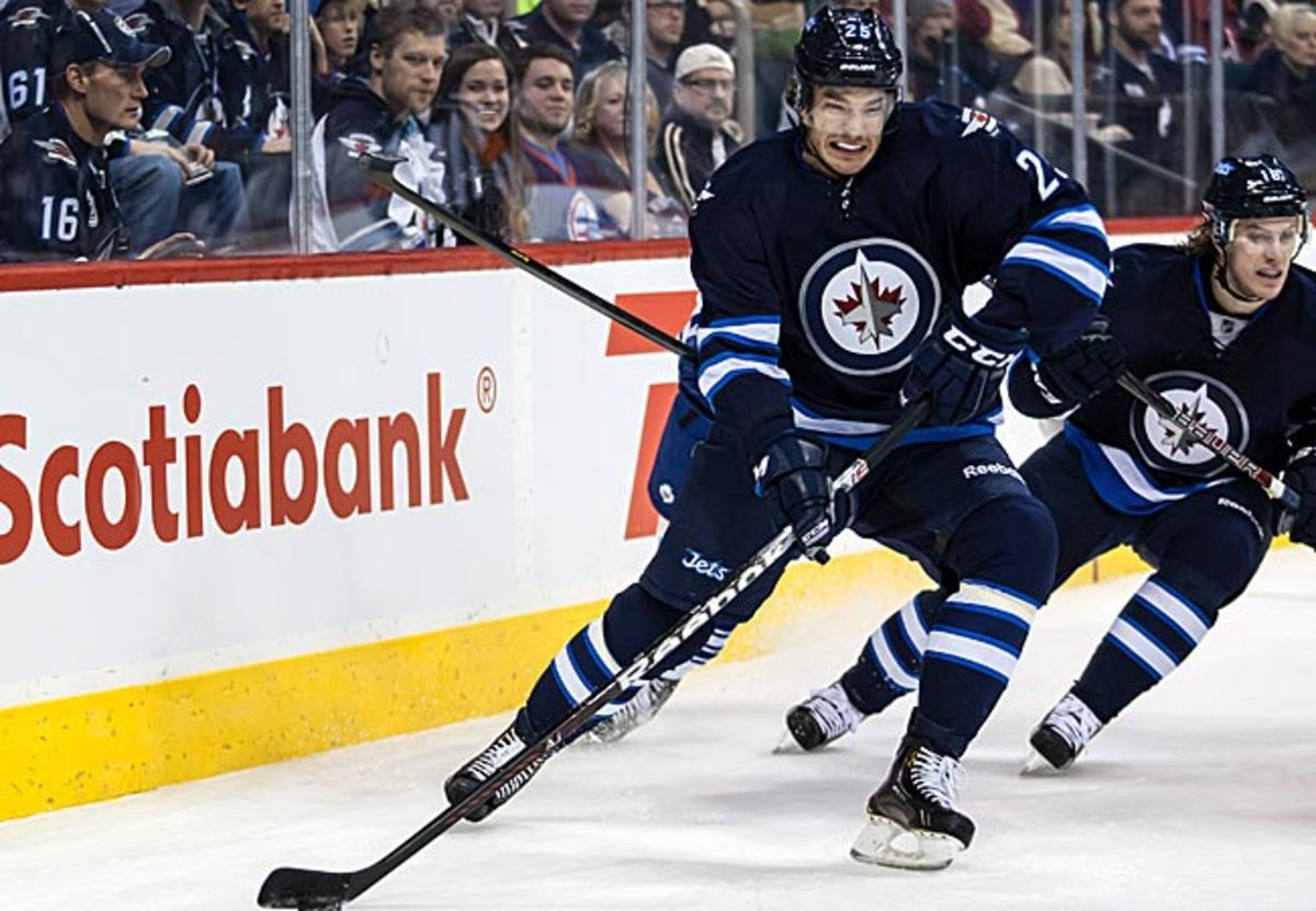 The 24-year-old Redmond has played in eight games this season. He has one goal, three assists and 12 penalty minutes.