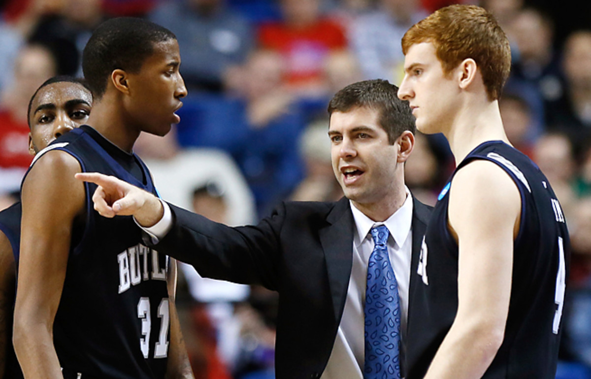 New Celtics coach Brad Stevens took Butler to a pair of title games while running an NBA-styled offense.