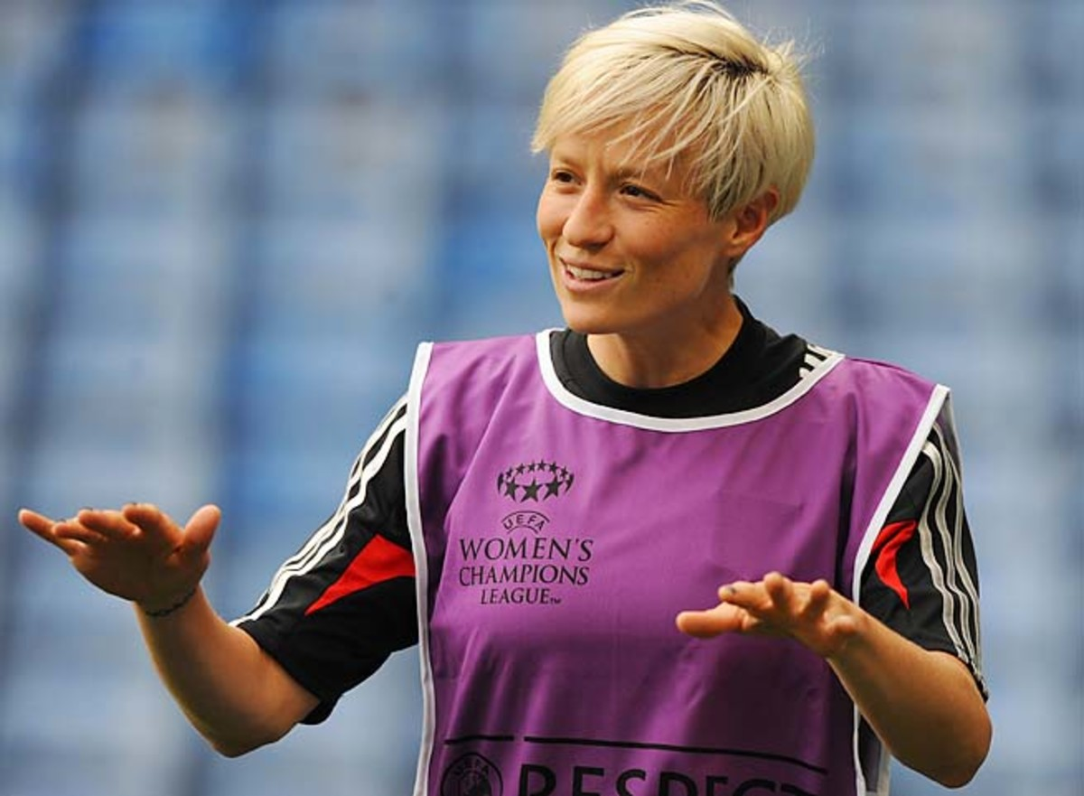 Megan Rapinoe hopes to become the first U.S. woman to win a Champions League title since 2008.