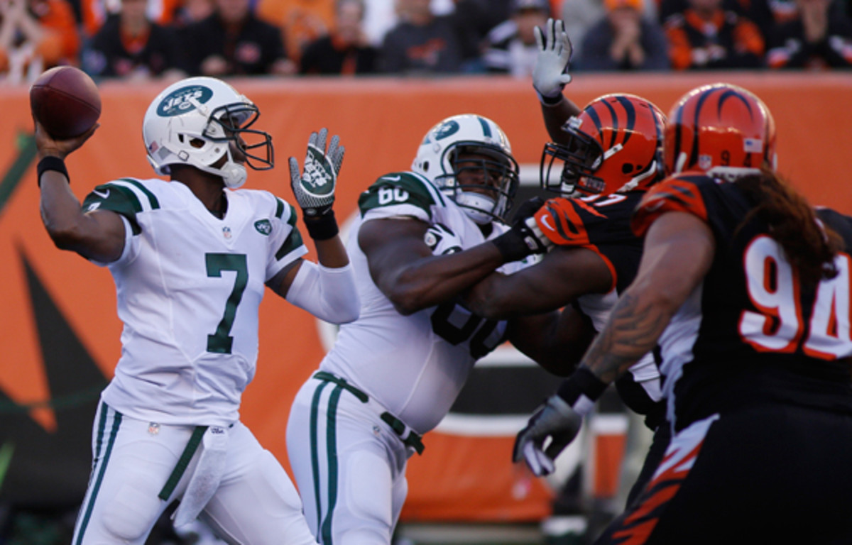 Geno Smith looked very much like a rookie QB against the Bengals.