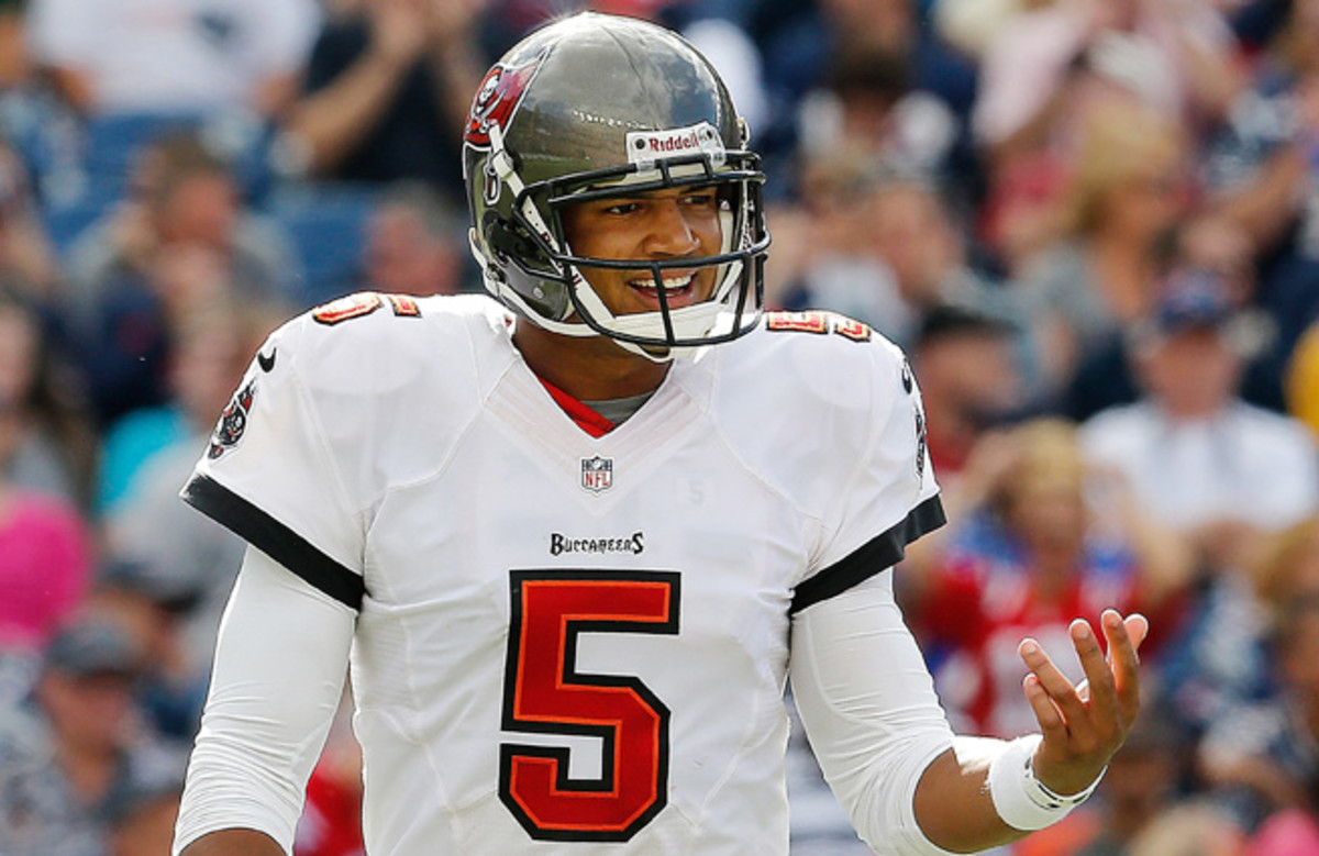 Josh Freeman was declared inactive prior to the Buccaneers' Week 4 loss to the Cardinals.