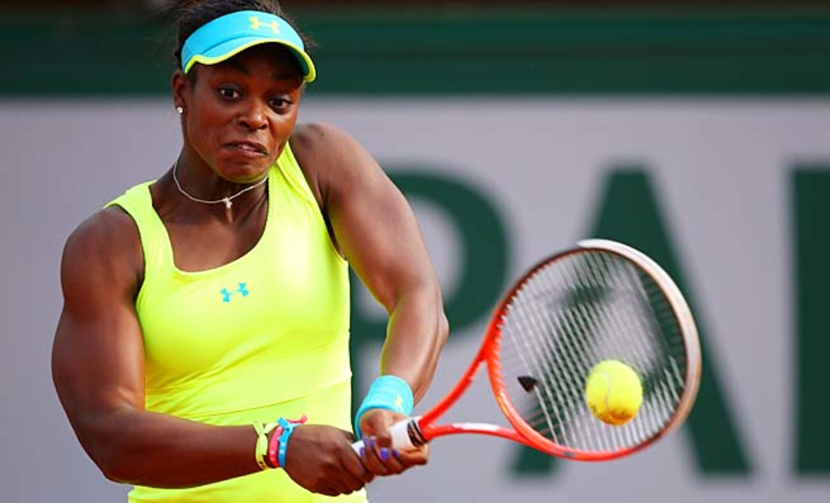 Sloane Stephens heads to the grass courts next. She made the third round of Wimbledon last year.
