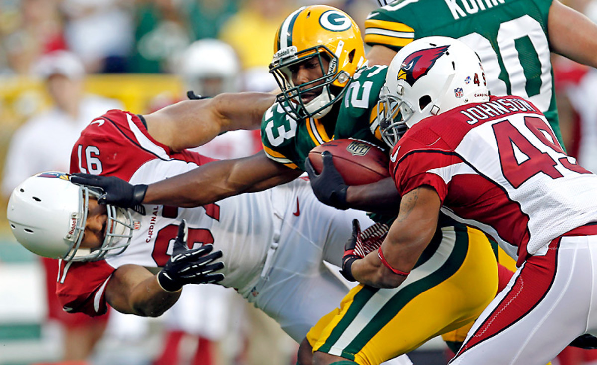 Johnathan Franlin was a part of the Packers' draft-day overhaul at running back.
