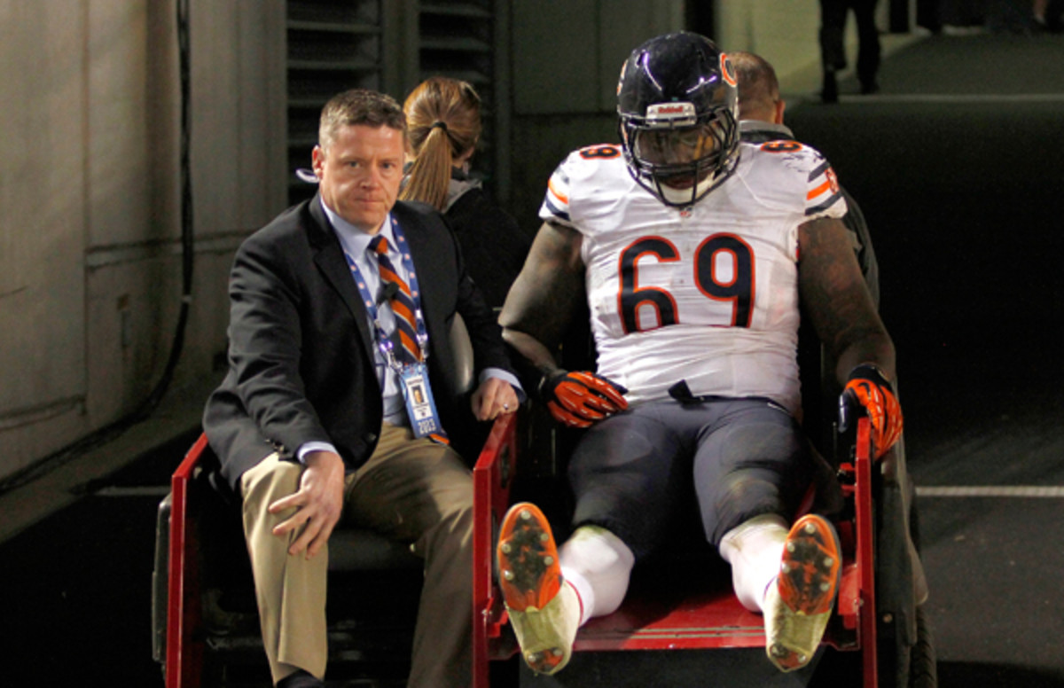 The Bears will be without DT Henry Melton for the rest of the 2013 season. (Justin K. Aller/Getty Images)