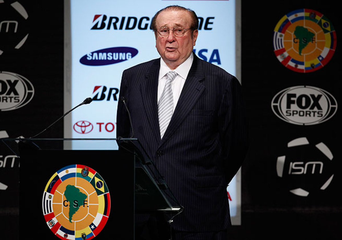 Nicolas Leoz had led CONMEBOL since 1986 and was on FIFA's executive committee since 1998.