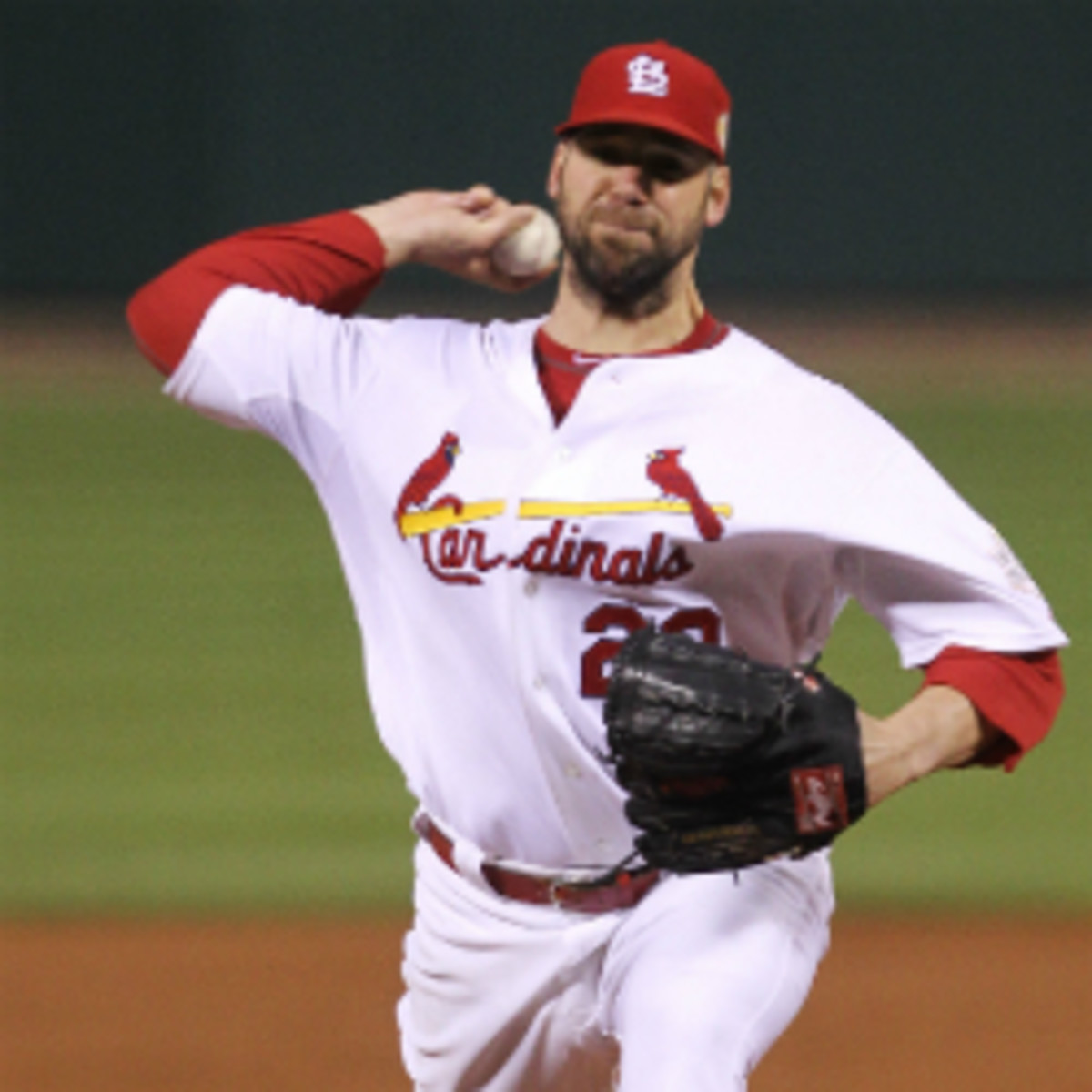 Cardinals pitcher Chris Carpenter says he is doubtful that he will pitch again. (Ezra Shaw/Getty Images)