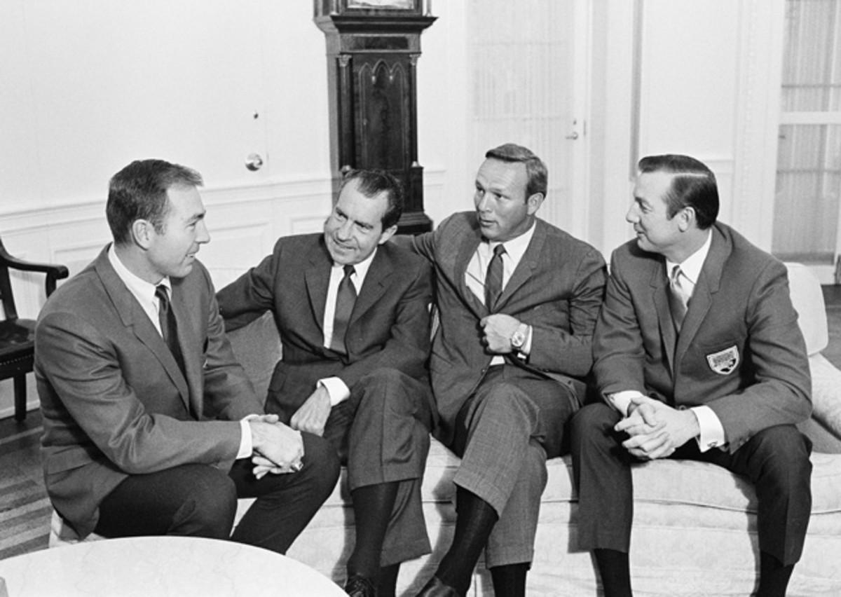 Bart Starr, Arnold Palmer and Al Kaline