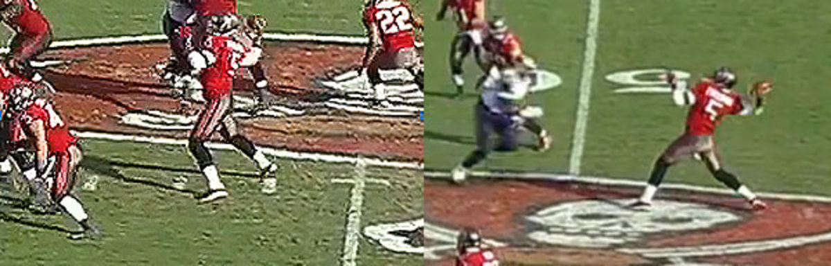 Freeman's mechanics aren't consistent, which leads to errant stretches.