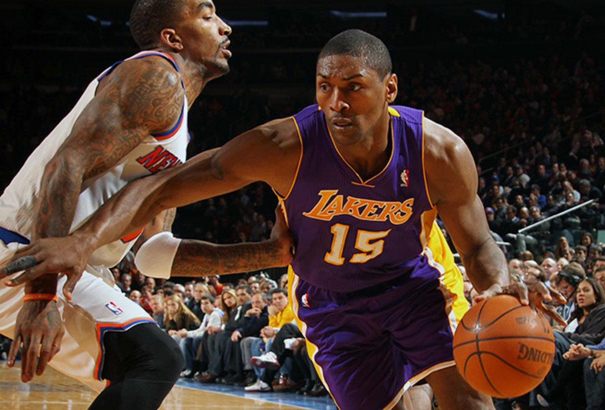 Metta World Peace will bolster the Knicks' second unit, but will New York be better than Brooklyn?