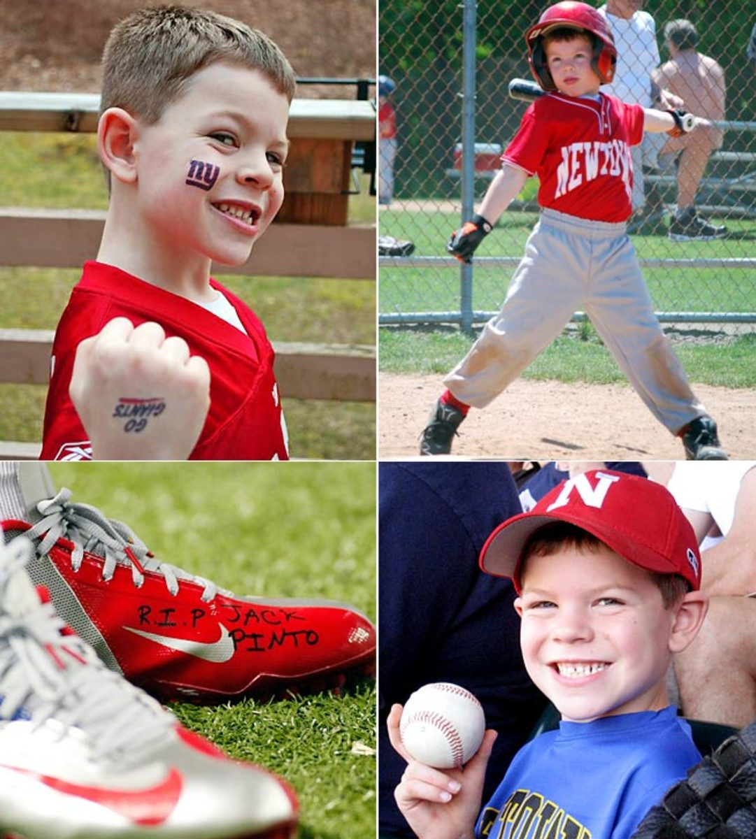 Jack Pinto, 6, was one of the 26 victims of Sandy Hook a year ago. He is a reminder to everyone who loves sports that we all were Jack Pinto once.