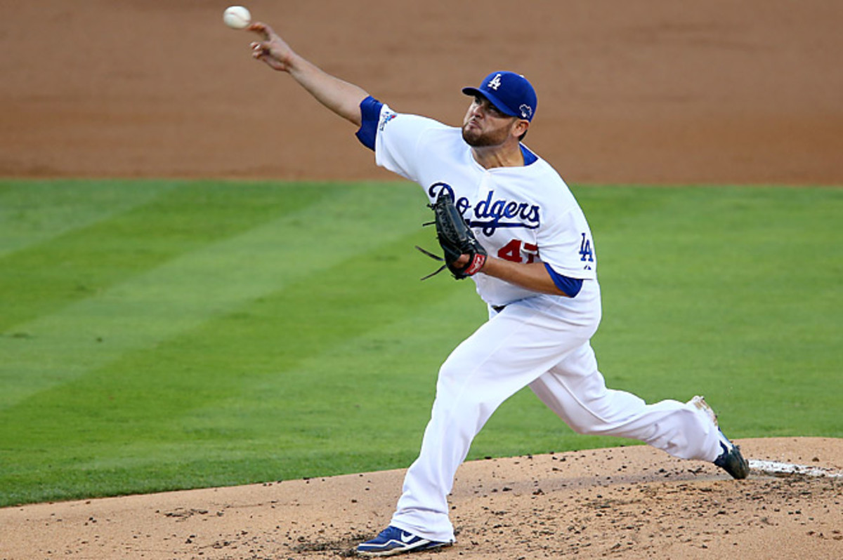 Nolasco's $49 million, four-year contract is the richest the team has given to a free agent.