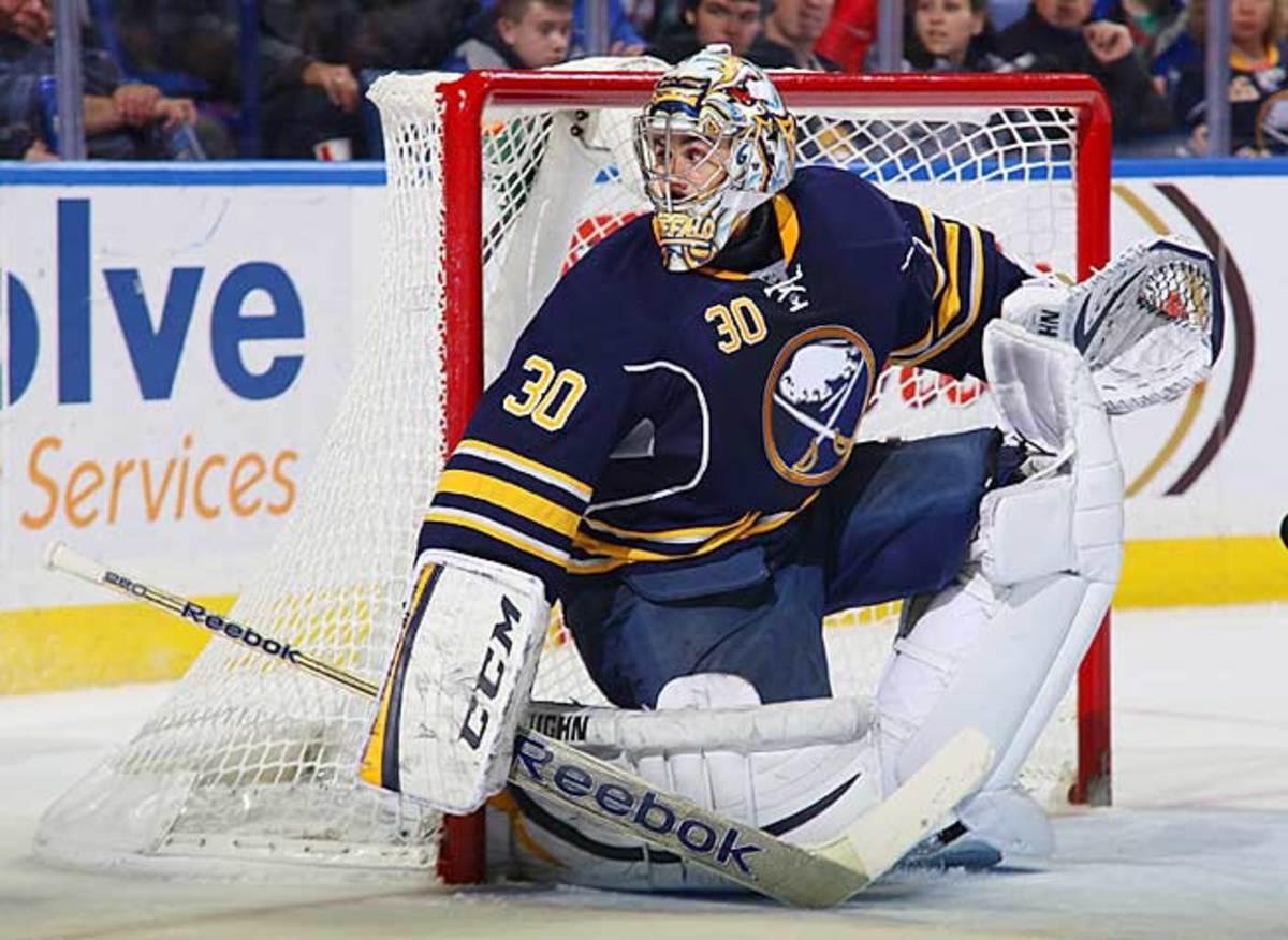 Ryan Miller has been stellar despite having to play behind one of the NHL's worst teams.