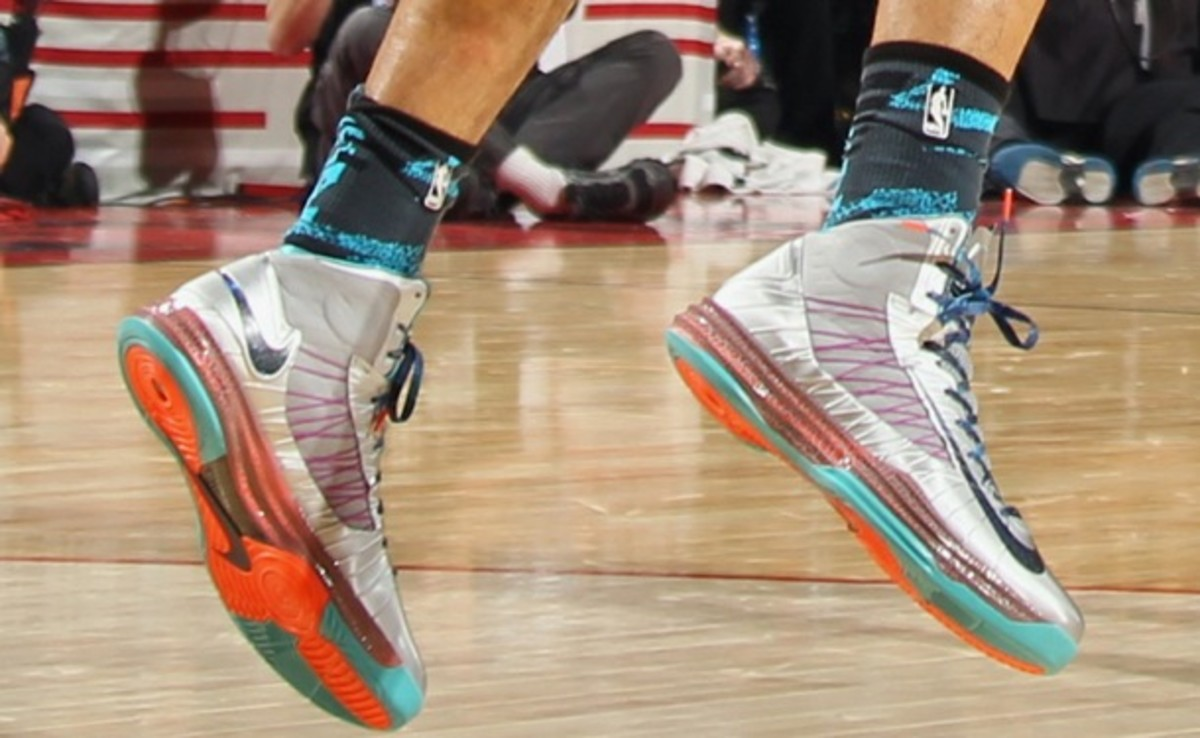 Tyson Chandler's All-Star sneakers