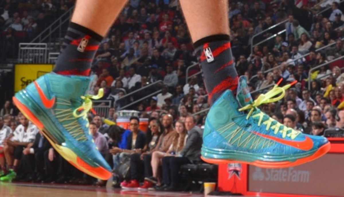 David Lee's All-Star Game sneakers