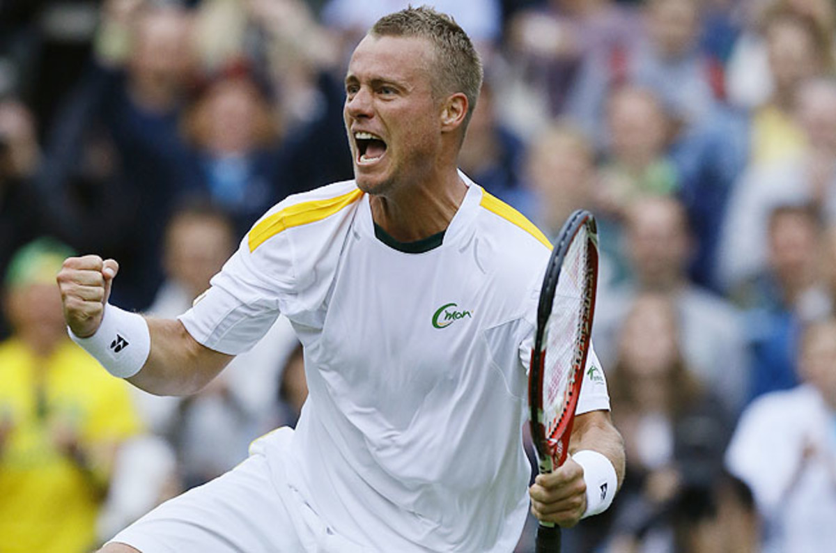 The 32-year-old Aussie defeated 11th-seeded Stanislas Wawrinka 6-4, 7-5, 6-3 on Monday.