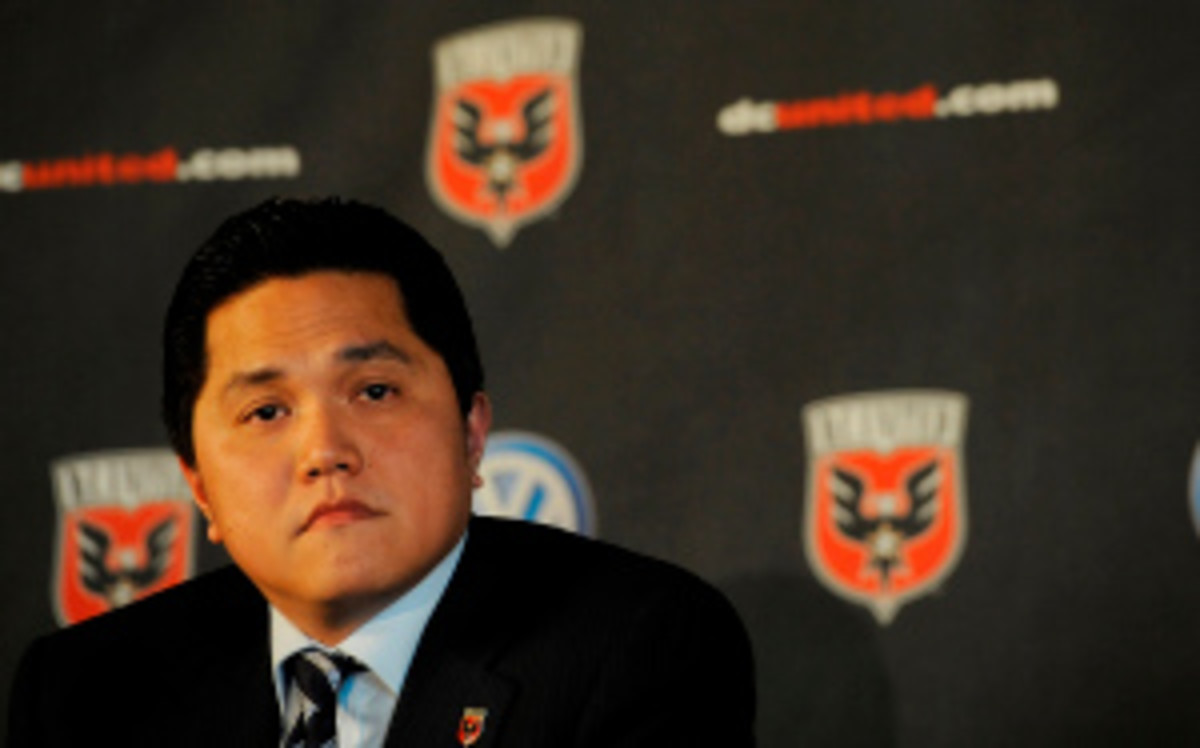 Erick Thohir, part owner of the Philadelphia 76ers and D.C. United, purchased a majority stake of Inter Milan on Tuesday for approximately $475 million. (Patrick McDermott/Getty Images)