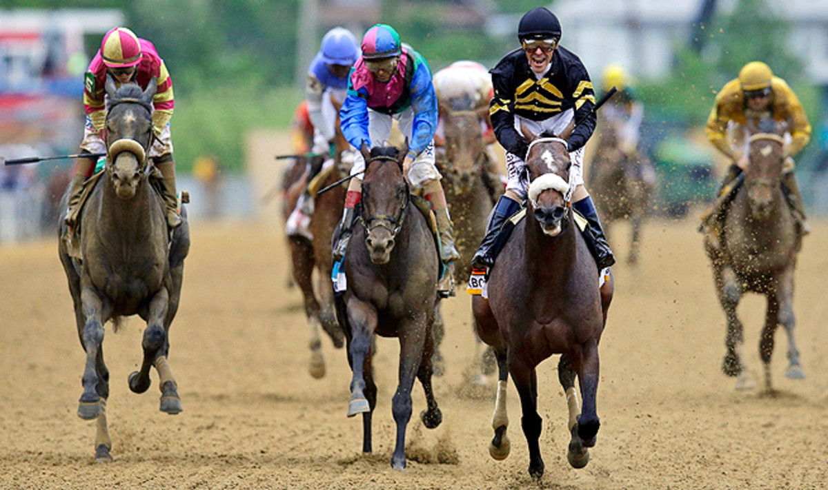 Rosie Napravnik, left, will become the first female to ride in all three Triple Crown races in the same year.