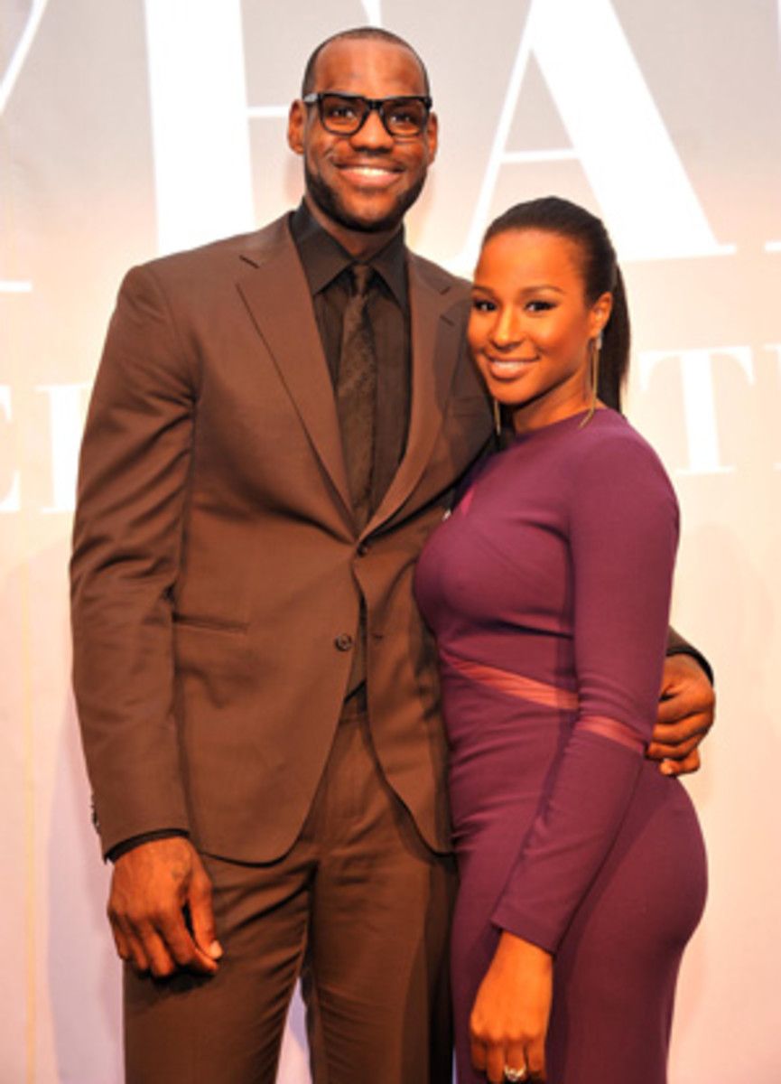 LeBron James and his fiancee have reportedly set a wedding date. (Stephen Lovekin/Getty Images)