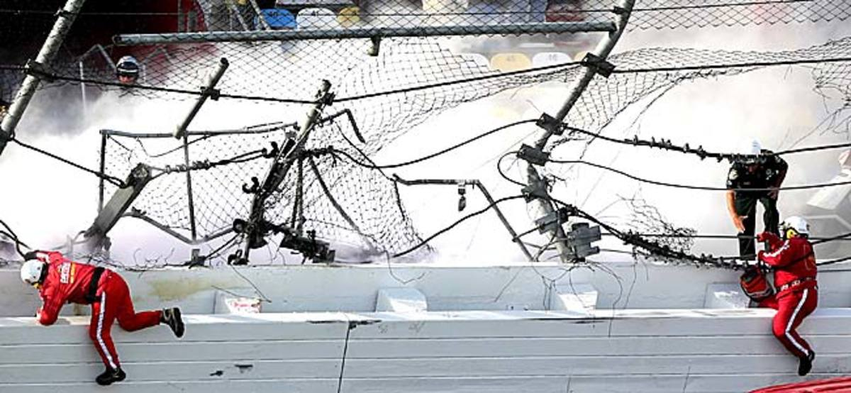 This will be the third time in four years the track has needed major repairs on Daytona 500 weekend.
