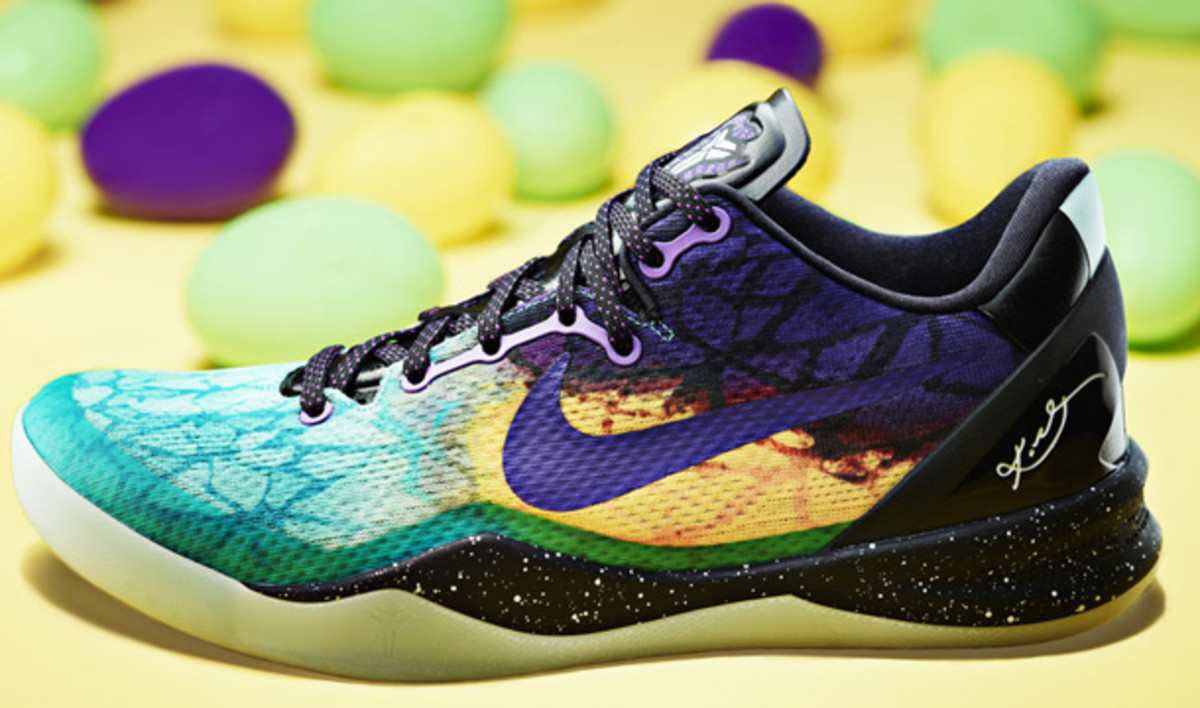 Kobe Bryant's Easter Nikes