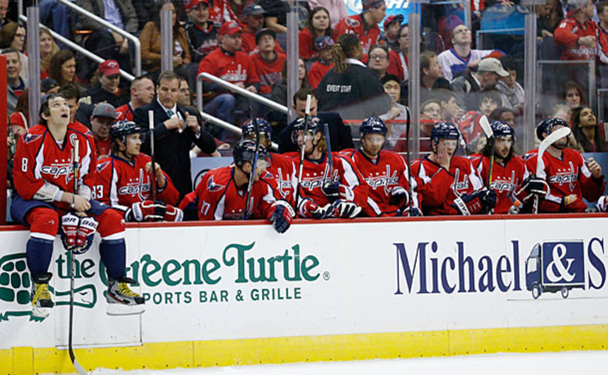 The Washington Capitals are emerging from their slump.