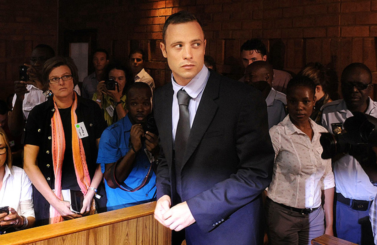 Over the last year, Oscar Pistorius' collection of firearms has steadily grown.