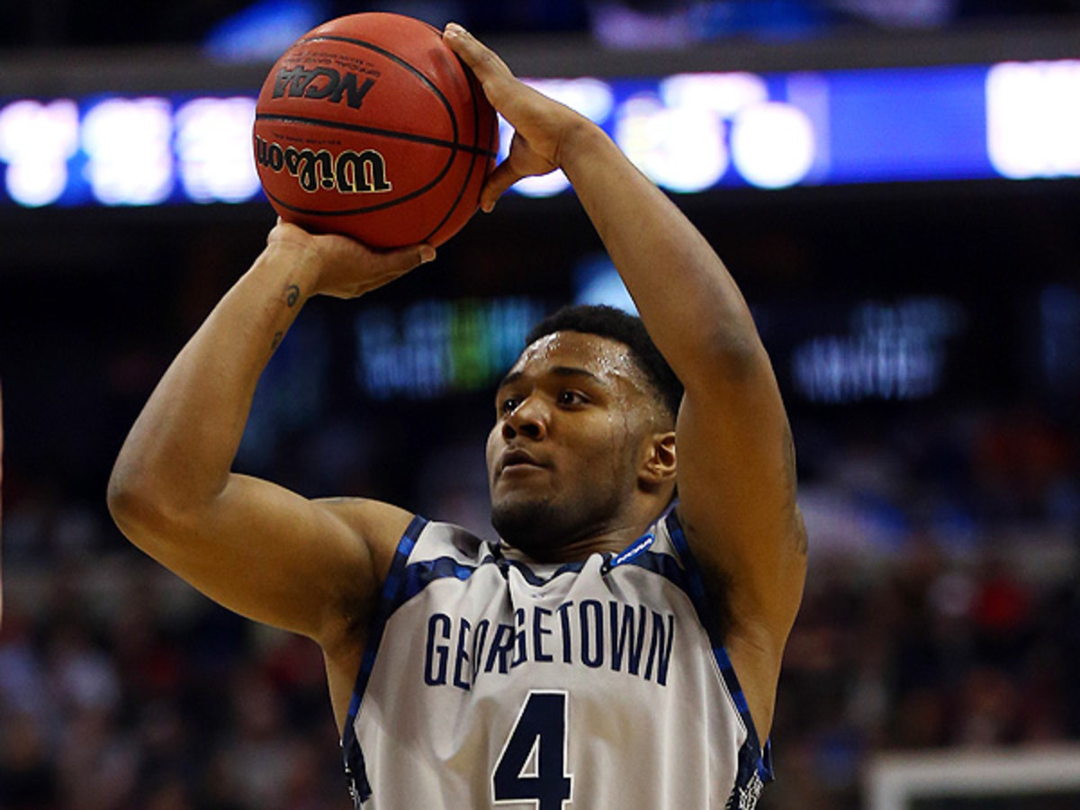 Despite Otto Porter's departure, D'Vauntes Smith-Rivera and the Hoyas should still be a contender in the Big East this season. (Elsa/Getty Images)