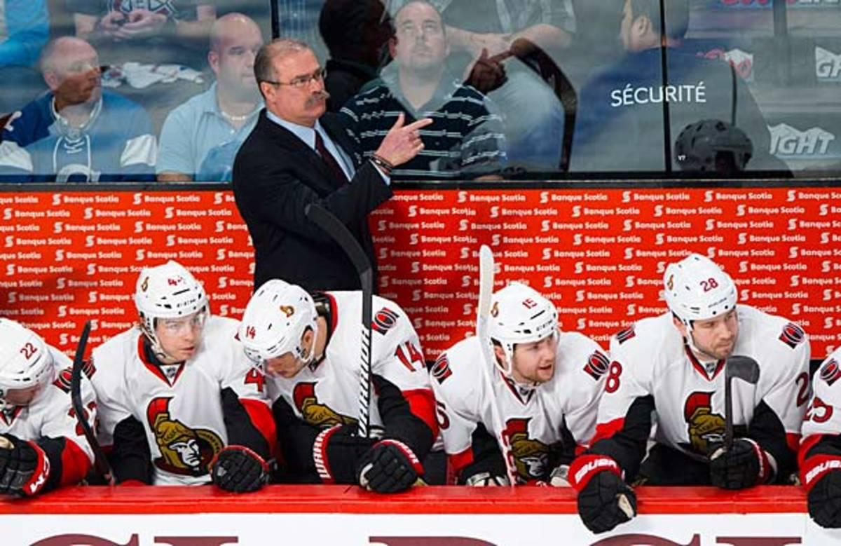 Paul MacLean of the Ottawa Senators is a 2013 Jack Adams Award nominee.