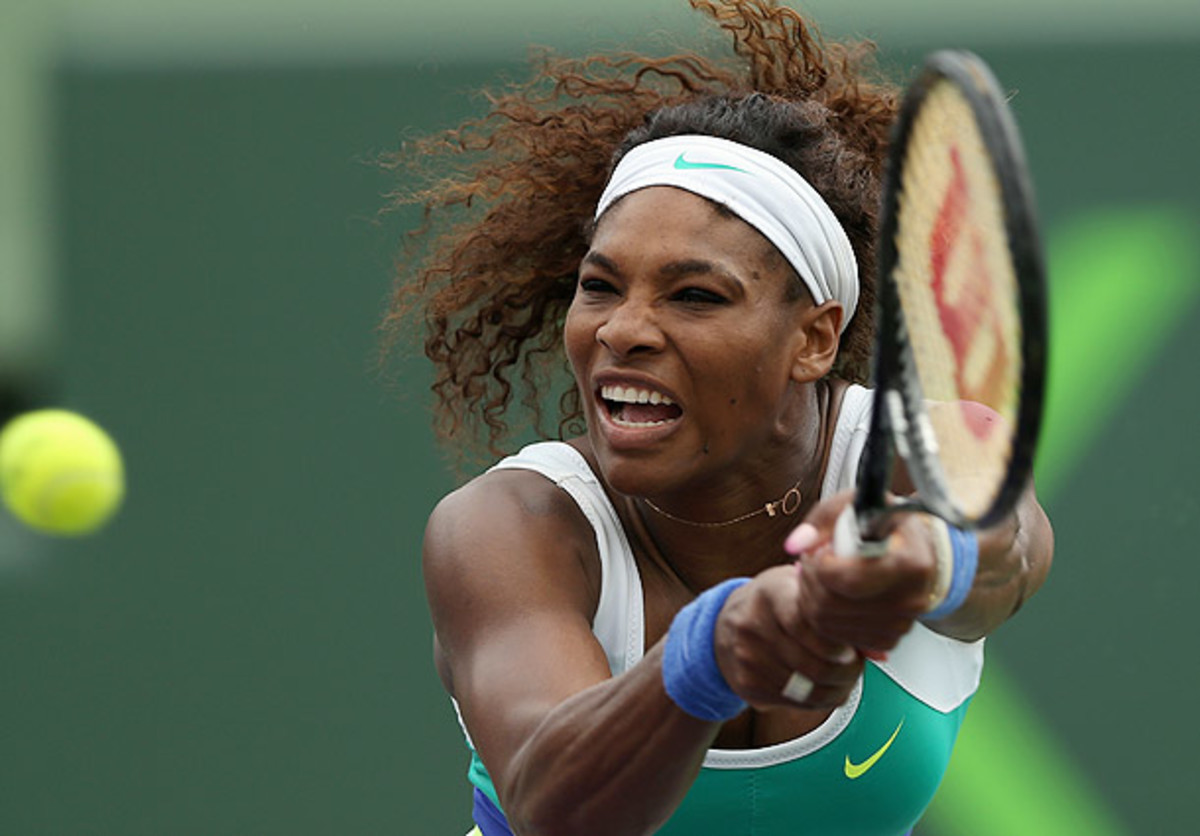Serena Williams at the Sony Open