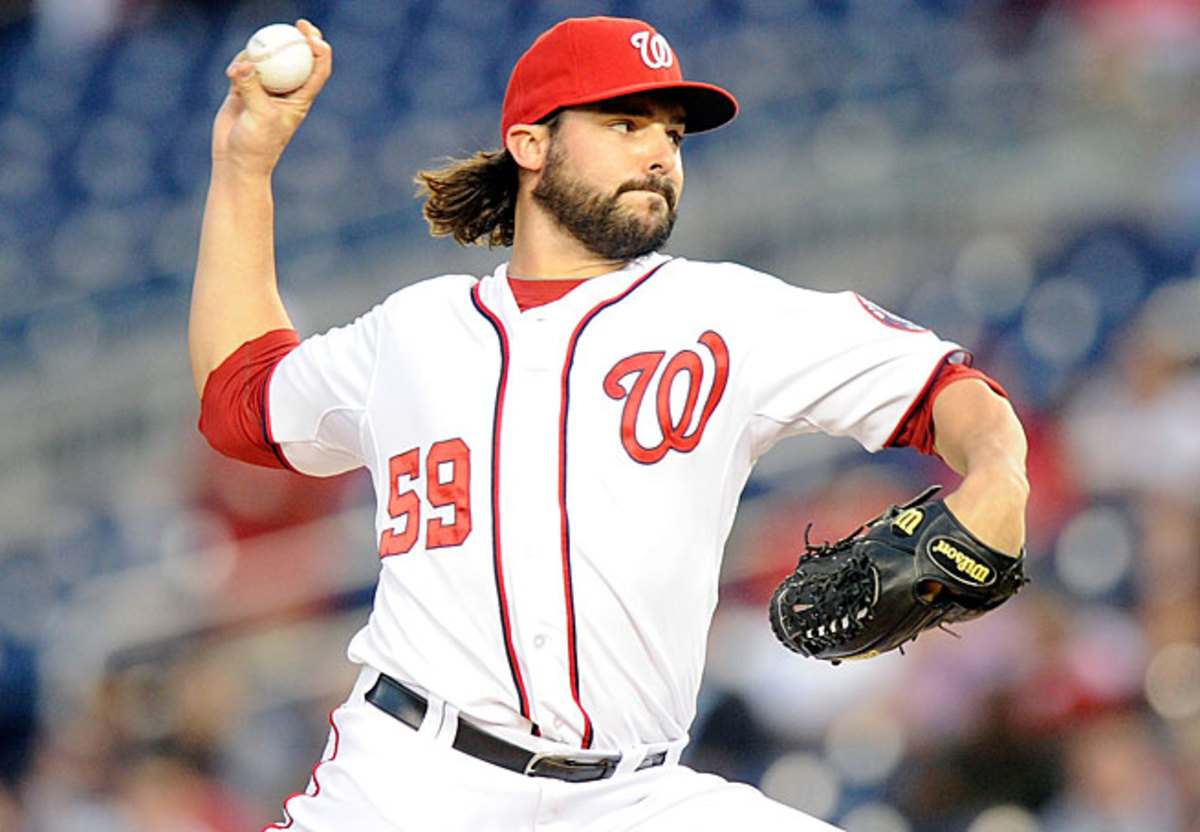 Unheralded Tanner Roark has been one of the best relievers in baseball this season.