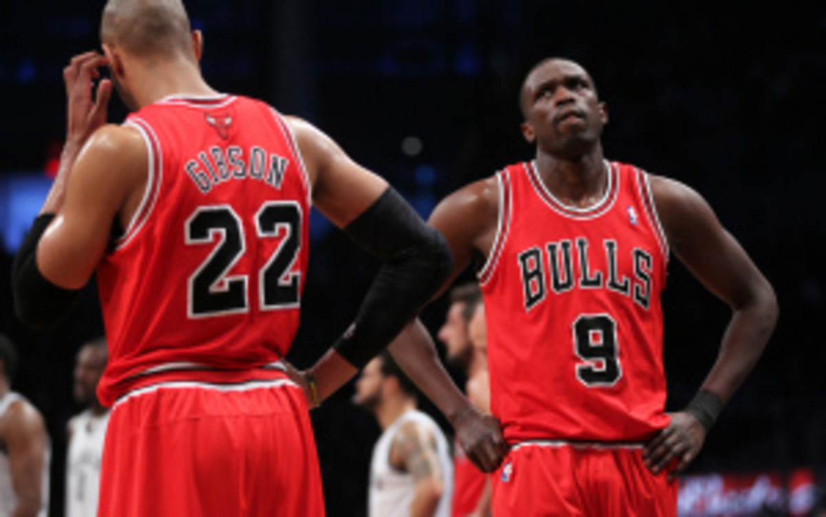 The Bulls said last week that Luol Deng is not on the trading block despite teams inquiring. (Chicago Tribune/Getty Images)