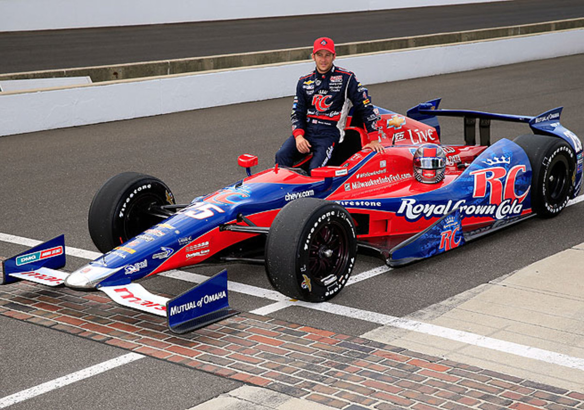 Marco Andretti is hoping to break the Indy 500 curse that has haunted his family for decades.