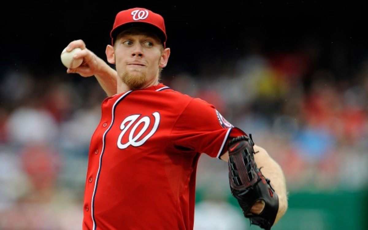 Stephen Strasburg could have been the difference last postseason, his manager said. (Patrick McDermott/Getty Images)