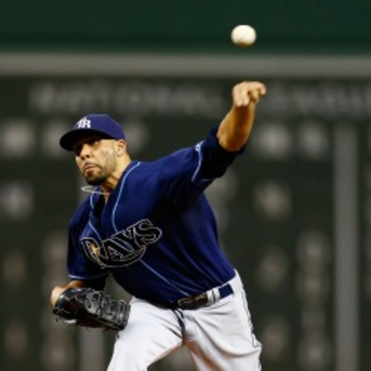 Rays pitcher David Price says he wouldn't play for the Yankees because of their rule forbidding facial hair. (Jared Wickerham/Getty Images)