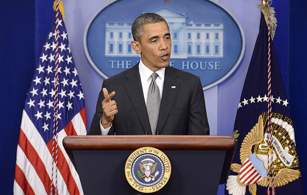 President Obama and investigators do not know yet if the bombings were carried out by an international or domestic organization.