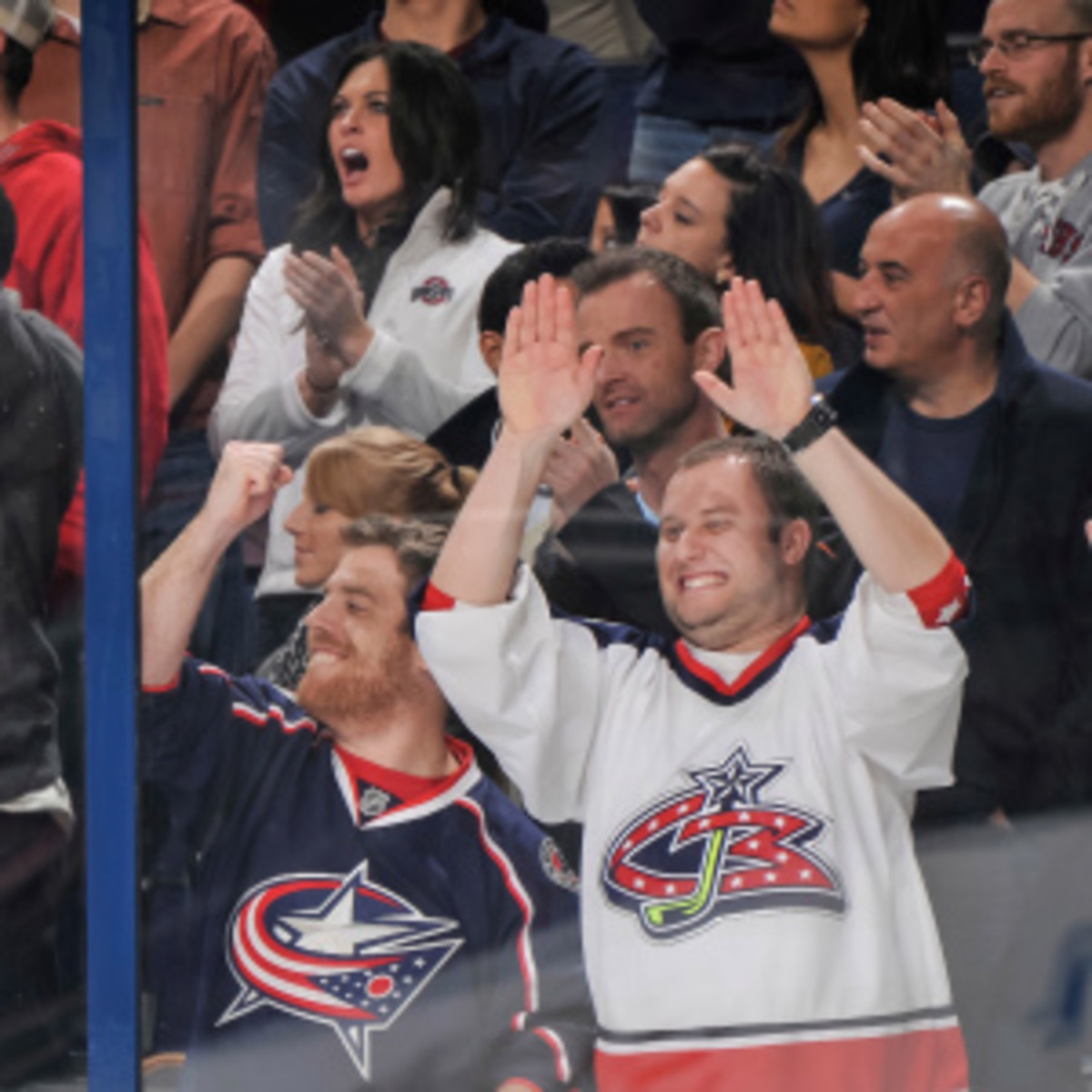 Despite the NHL raising ticket prices by a higher percentage than the NFL, NBA and MLB for a second consecutive year, attendance is on the rise this season (Jamie Sabau/Getty Images)