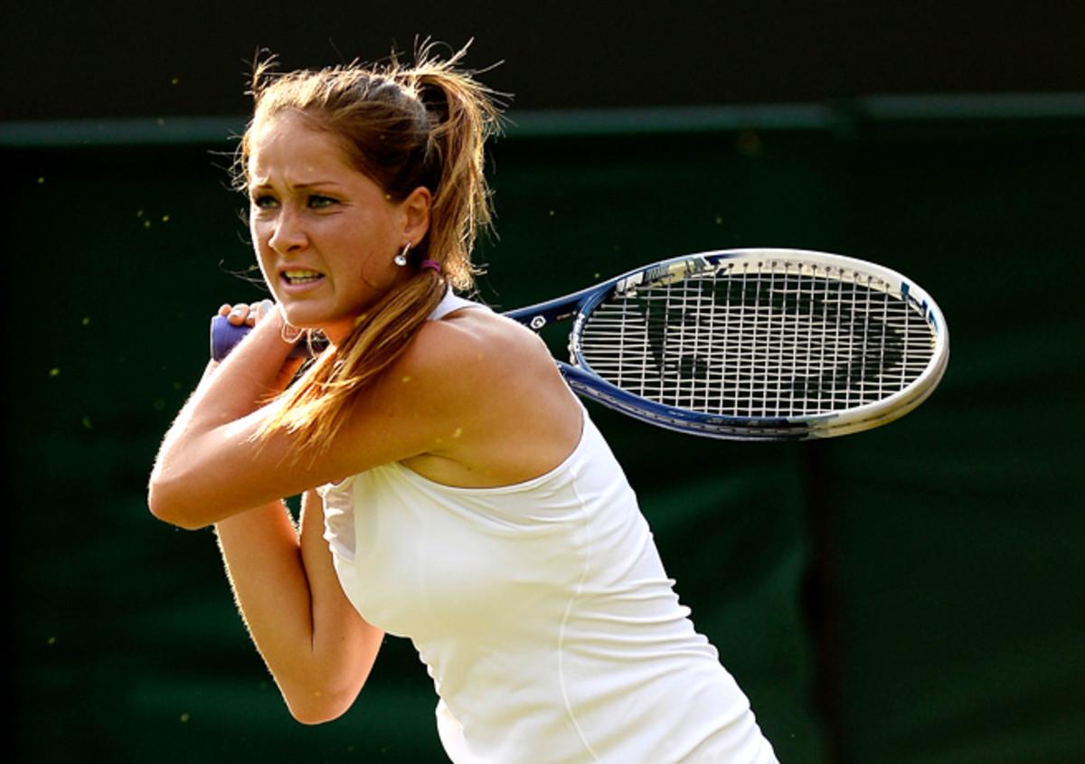 Defending champion Bojana Jovanovski defeated Nigina Abduraimova 6-3, 6-3 on Tuesday.