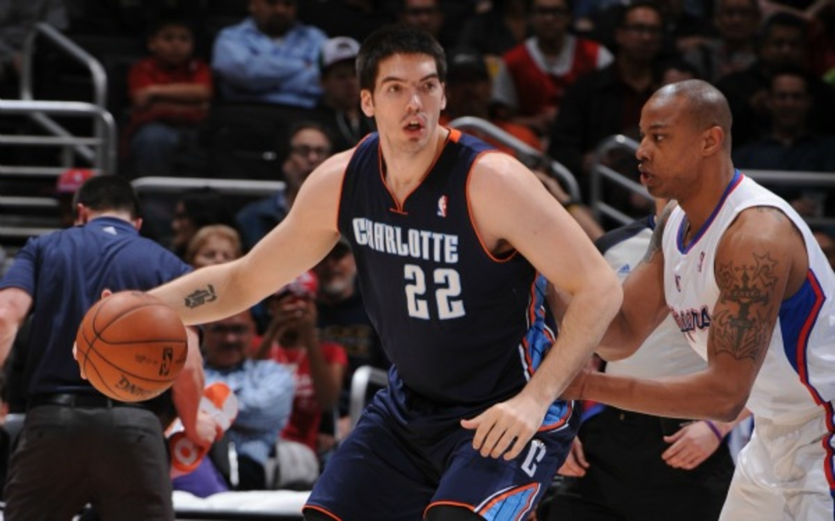 Byron Mullens (left) has signed a two-year deal with the Los Angeles Clippers.