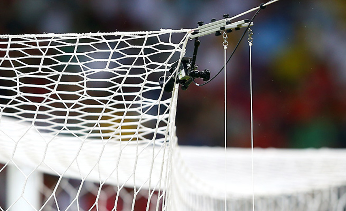 Current goal-line technology can have a maximum margin of error of three centimeters.