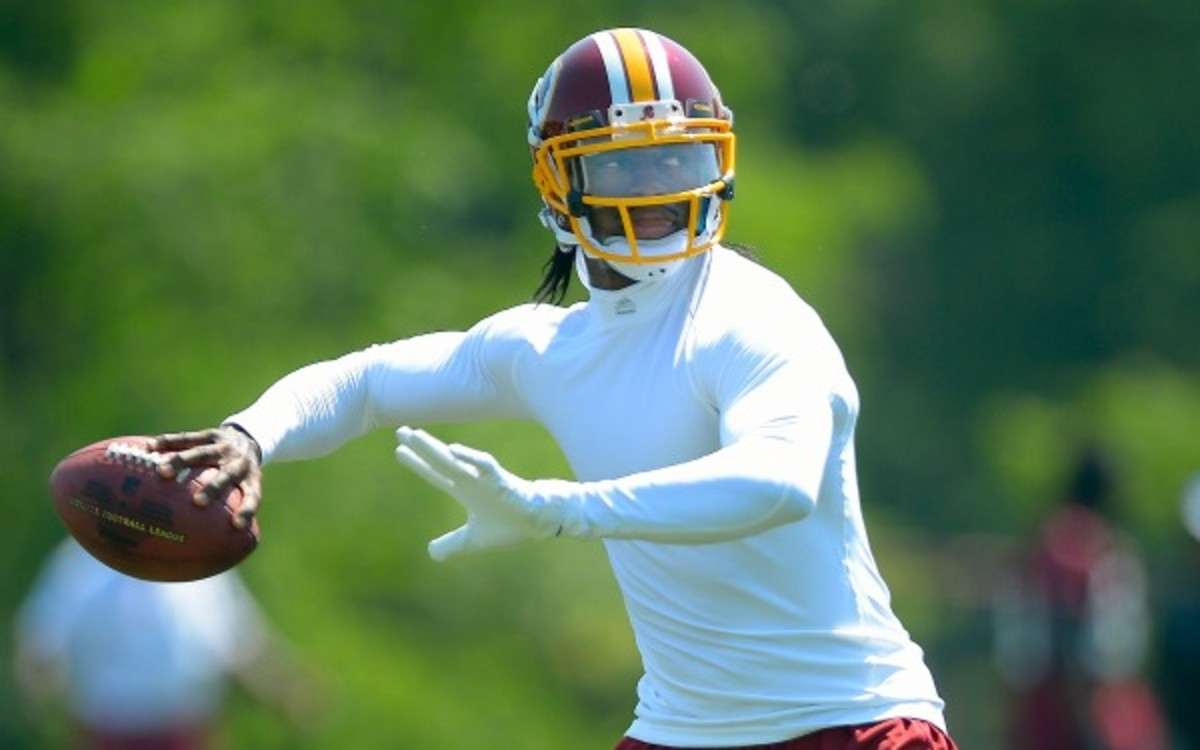 Robert Griffin III 'feels great' and ready to return ahead of Redskins training camp. (The Washington Post/Getty Images)