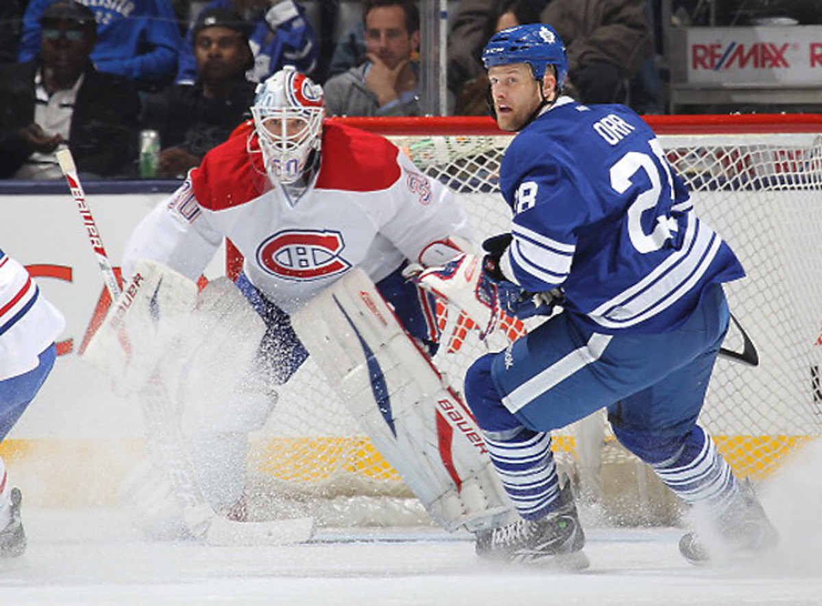 Now that both teams could establish for the Eastern Conference crown next season, Canadiens-Leafs will be must-watch hockey. [Claus Andersen/Getty Images].