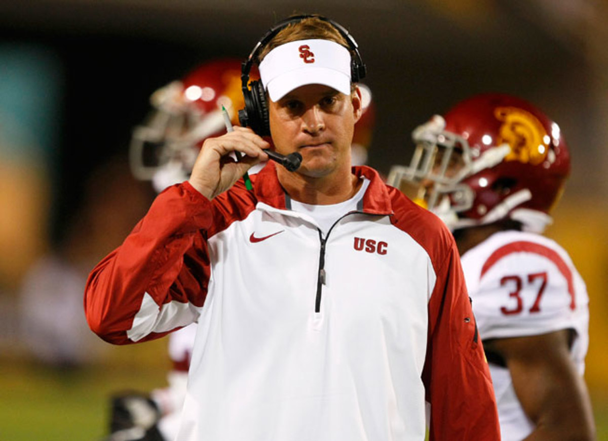 USC fired coach Lane Kiffin just five games into the 2013 season after a blowout loss to Arizona State.