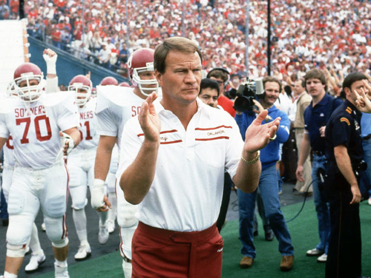 The Switzies are named in honor of Barry Switzer, patron saint of college football frolicking. (Andy Hayt/SI)