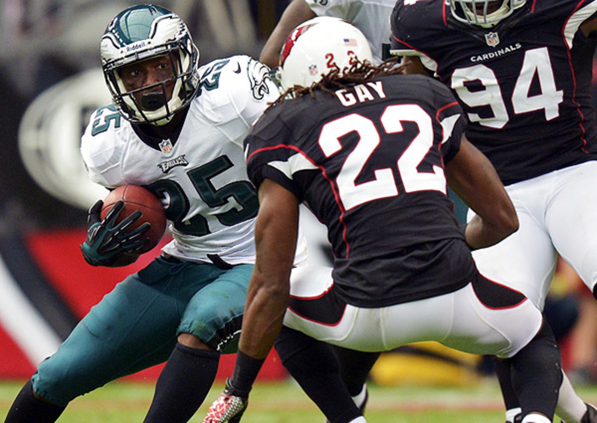 Will LeSean McCoy and the Eagles be able to run against the Cardinals' league-best defense?