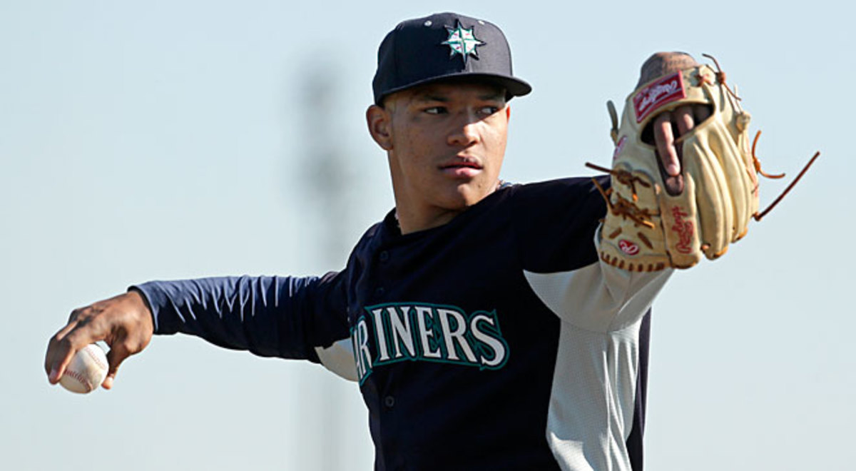 Taijuan Walker is one of several promising starters Seattle is banking on to join Felix Hernandez on its staff one day.