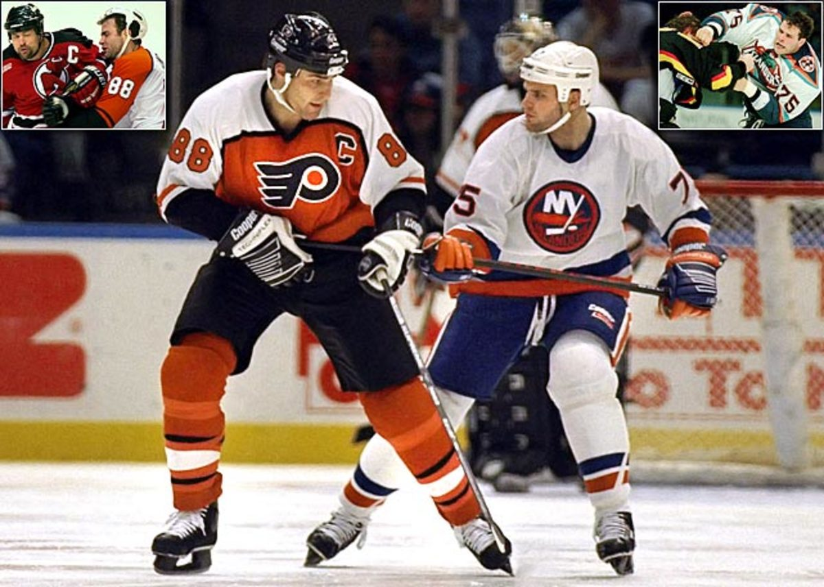 Eric and Brett Lindros